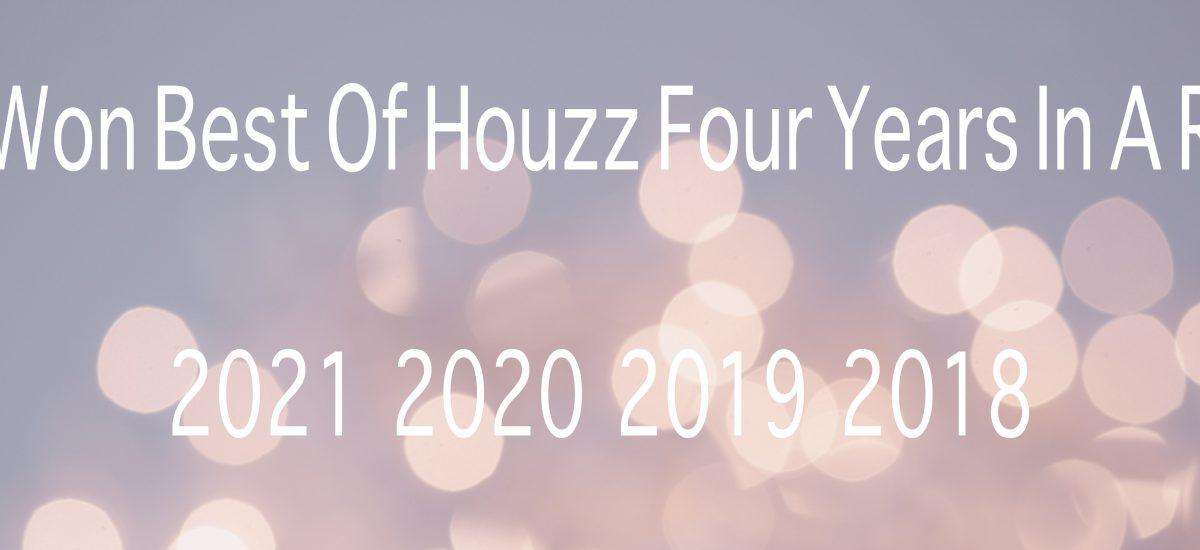 We Won Best of Houzz