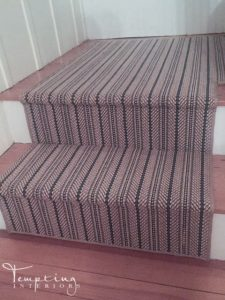 stair runner nautical 3 Tempting Interiors with logo
